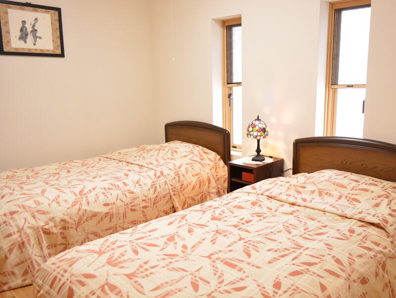 八幡平市松川温泉 松川荘 特別室 ベッドルーム