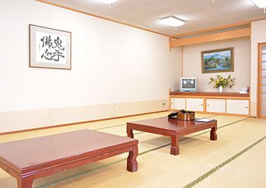 松川荘 談話室