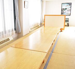 松川荘 食堂2